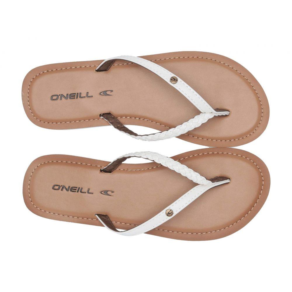 オニール O'Neill レディース シューズ・靴 ビーチサンダル【Malibu】White