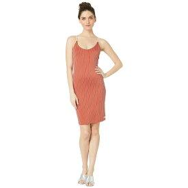 ハーレー Hurley レディース ワンピース・ドレス ワンピース【Quick Dry Rise Dress】Firewood Orange
