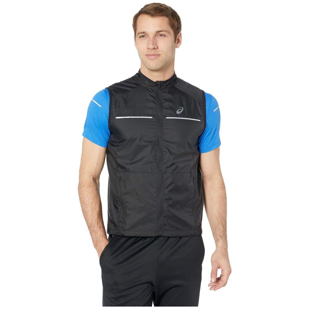 アシックス ASICS メンズ トップス ベスト・ジレ【Lite-Show Vest】Performance Black