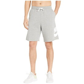 ナイキ Nike メンズ ボトムス・パンツ ショートパンツ【NSW FT Alumni Shorts】Dark Grey Heather/Dark Grey Heather/White