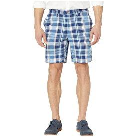ノーティカ Nautica メンズ ボトムス・パンツ ショートパンツ【8.5' Plaid Classic Fit Shorts】Riviera Blue