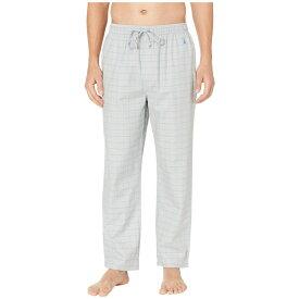 ノーティカ Nautica メンズ インナー・下着 パジャマ・ボトムのみ【Herringbone Plaid Sleep Pants】Neutral Grey