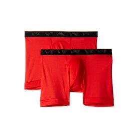 ナイキ Nike メンズ インナー・下着 ボクサーパンツ【Brief Boxer 2-Pair Pack】University Red/University Red/White