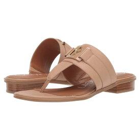 カルバンクライン Calvin Klein レディース シューズ・靴 ビーチサンダル【Farley】Desert Sand Soft Nappa Shine