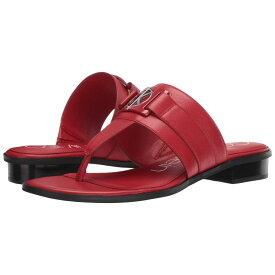 カルバンクライン Calvin Klein レディース シューズ・靴 ビーチサンダル【Farley】Scarlet Nappa