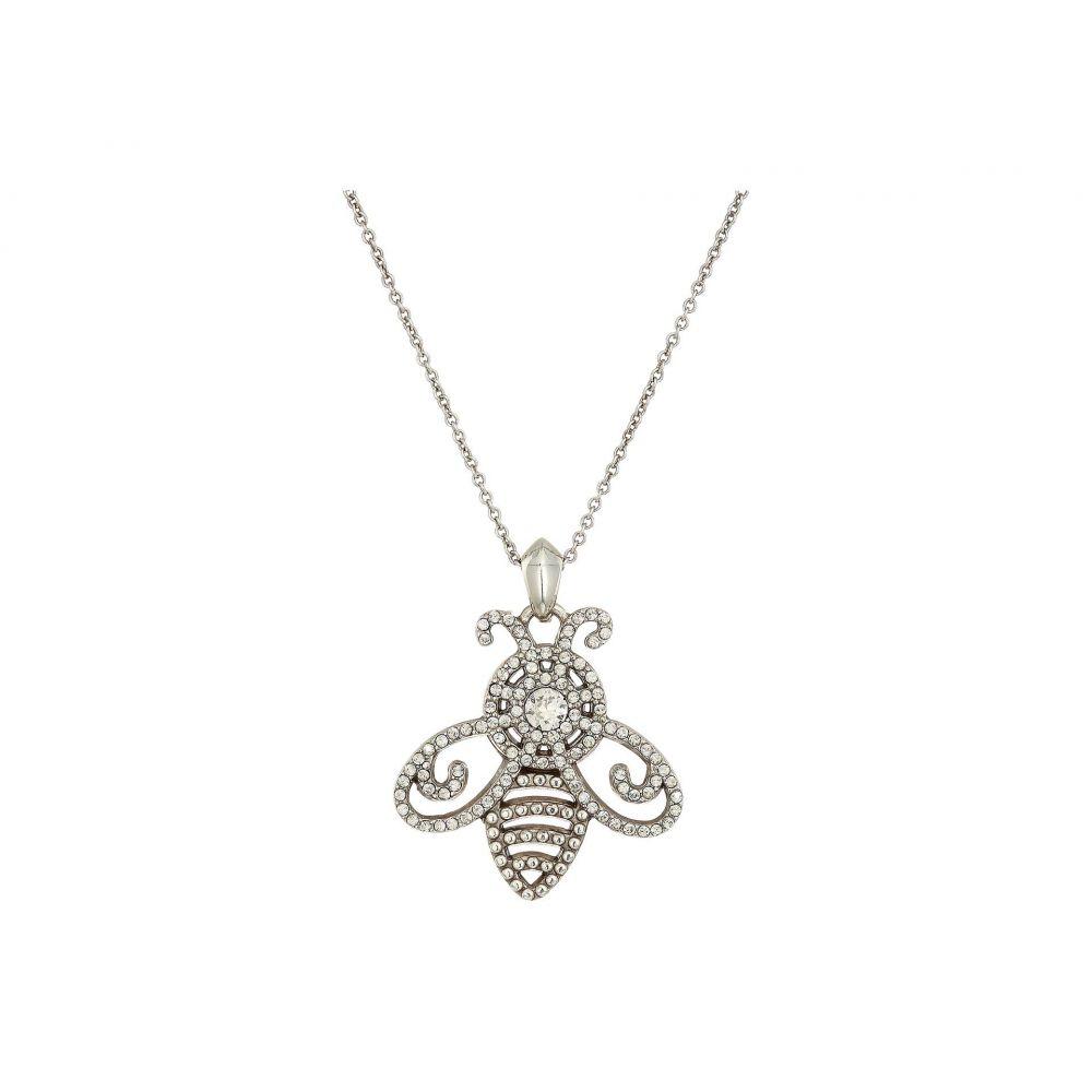 ブライトン Brighton レディース ジュエリー・アクセサリー ネックレス【Illumina Bee Necklace】Silver/Crystal