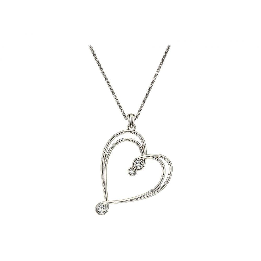 ブライトン Brighton レディース ジュエリー・アクセサリー ネックレス【Infinity Sparkle Heart Necklace】Silver/Crystal