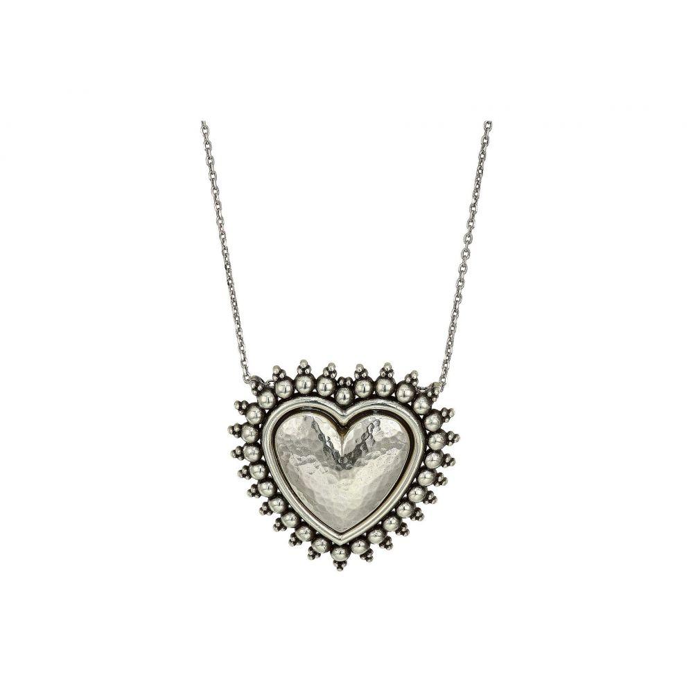 ブライトン Brighton レディース ジュエリー・アクセサリー ネックレス【Telluride Heart Necklace】Silver