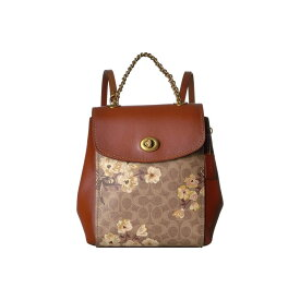 4fdf0e48c21c コーチ COACH レディース バッグ バックパック・リュック【Prairie Coated Canvas Signature Parker  Backpack】