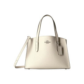 5782f3cd279b コーチ COACH レディース バッグ ハンドバッグ【Charlie 28 Carryall in Polished Pebble Leather】SV /