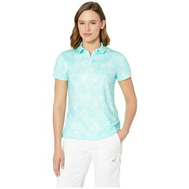 ナイキ Nike Golf レディース トップス ポロシャツ【Dri-FIT(TM) UV Polo All Over Print Summer】Tropical Twist/Teal Tint