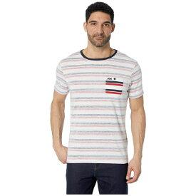 ヘリーハンセン Helly Hansen メンズ トップス Tシャツ【Fjord T-Shirt】Navy Faded Stripes