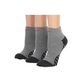 ナイキ Nike レディース インナー・下着 ソックス【Everyday Max Cushion Ankle Socks 3-Pair Pack】Carbon Heather/Anthracite/Vivid Pink