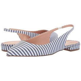 ジェイクルー J.Crew レディース シューズ・靴 スリッポン・フラット【Pointy Toe Slingback Flat in Stripe】Blue/White