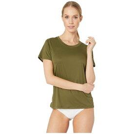 ハーレー Hurley レディース トップス Tシャツ【Quick Dry Surf Shirt】Olive Canvas