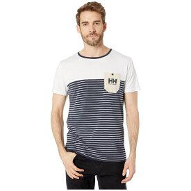 ヘリーハンセン Helly Hansen メンズ トップス Tシャツ【Fjord T-Shirt】Navy Stripes