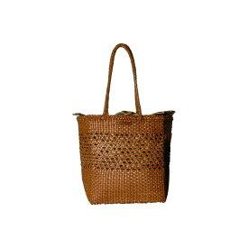 ロフラーランドール Loeffler Randall レディース バッグ トートバッグ【Maya Woven Leather Shopper Tote】Timber Brown/Leopard