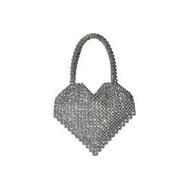 ロフラーランドール Loeffler Randall レディース バッグ トートバッグ【Maria Beaded Heart Tote】Silver