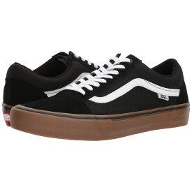 ヴァンズ Vans メンズ シューズ・靴【Old Skool Pro】Black/White/Medium Gum