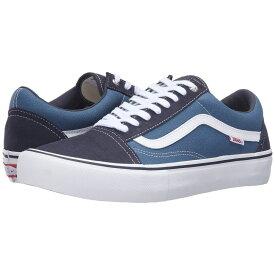 ヴァンズ Vans メンズ シューズ・靴【Old Skool Pro】Navy/Stv Navy/White