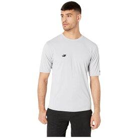 オニール O'Neill メンズ 水着・ビーチウェア ラッシュガード【Premium Short Sleeve Sun Shirt】Cool Grey