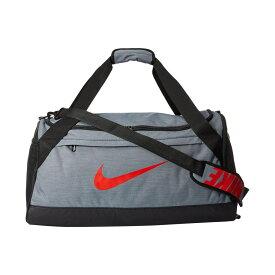 ナイキ Nike レディース バッグ ボストンバッグ・ダッフルバッグ【Brasilia Medium Duffel Bag】Cool Grey/Black/Habanero Red