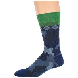 エトロ Etro メンズ インナー・下着 ソックス【Geometric Socks】Blue