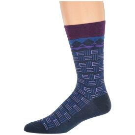 エトロ Etro メンズ インナー・下着 ソックス【Branded Socks】Blue