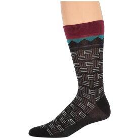 エトロ Etro メンズ インナー・下着 ソックス【Branded Socks】Black
