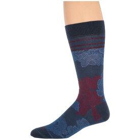 エトロ Etro メンズ インナー・下着 ソックス【Floral Socks】Blue