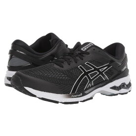 アシックス ASICS メンズ ランニング・ウォーキング シューズ・靴【GEL-Kayano 26】Black/White