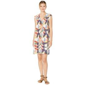 モドオードック Mod-o-doc レディース ワンピース・ドレス ワンピース【Tropical Palms Pintuck Front Shift Dress】Khaki