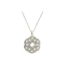 ブライトン Brighton レディース ジュエリー・アクセサリー ネックレス【Interlok Eternity Circle Necklace】Silver