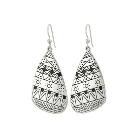 ブライトン Brighton レディース ジュエリー・アクセサリー イヤリング・ピアス【Africa Stories Etched French Wire Earrings】Silver