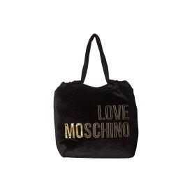 モスキーノ LOVE Moschino レディース バッグ トートバッグ【Large Logo Tote Bag】Nero