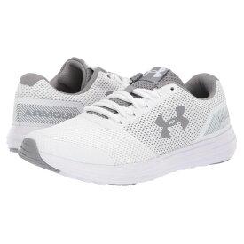 アンダーアーマー Under Armour レディース ランニング・ウォーキング シューズ・靴【UA Surge】White/White/Steel