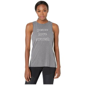 ナイキ Nike レディース ヨガ・ピラティス トップス【Yoga Collection Graphic Tank】Black/Heather/White
