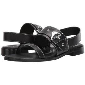 カルバンクライン Calvin Klein レディース シューズ・靴 サンダル・ミュール【Telisha】Black Cow Silk