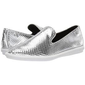 カルバンクライン Calvin Klein レディース シューズ・靴 スリッポン・フラット【Issa】Silver Armatura Snake