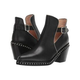 コーチ COACH レディース シューズ・靴 ブーツ【Pipa Beadchain Bootie】Black Leather