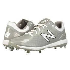 ニューバランス New Balance メンズ 野球 シューズ・靴【4040v5 Metal】Grey/White