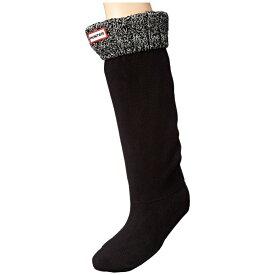 ハンター Hunter レディース インナー・下着 ソックス【6 Stitch Cable Boot Sock】Black/Grey