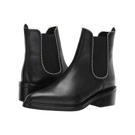 コーチ COACH レディース シューズ・靴 ブーツ【Bowery Beadchain Bootie】Black Leather