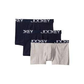 ジョッキー Jockey メンズ インナー・下着 ボクサーパンツ【Active Stretch(TM) Boxer Brief 3-Pack】True Navy/Grey Heather/True Navy