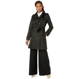ラルフ ローレン LAUREN Ralph Lauren レディース アウター レインコート【Year Round Rain Trench Coat】Black