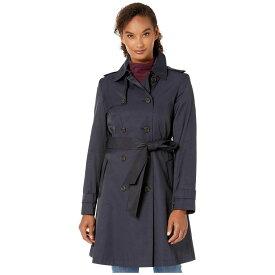 ラルフ ローレン LAUREN Ralph Lauren レディース アウター レインコート【Year Round Rain Trench Coat】Dark Navy