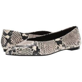 カルバンクライン Calvin Klein レディース シューズ・靴 スリッポン・フラット【Marjon】Natural Two-Tone Snake