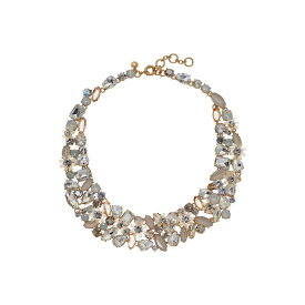 ジェイクルー J.Crew レディース ジュエリー・アクセサリー ネックレス【Botanical Cluster Necklace】Crystal
