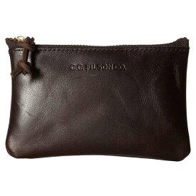 フィルソン Filson レディース ポーチ【Small Leather Pouch】Brown