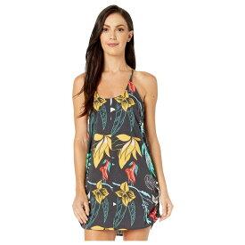 ハーレー Hurley レディース ワンピース・ドレス ワンピース【Coastal Domino Dress】Oil Grey